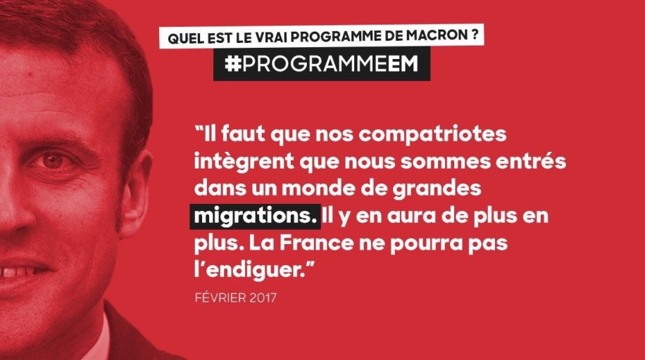Douce france emmanuel macron en mati re d immigration - Office francaise d immigration et d integration ...